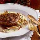牛ヒレ肉のこしょうたっぷりステーキ